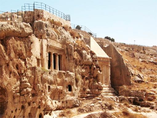 קבר זכריה הנביא בהר הזיתים