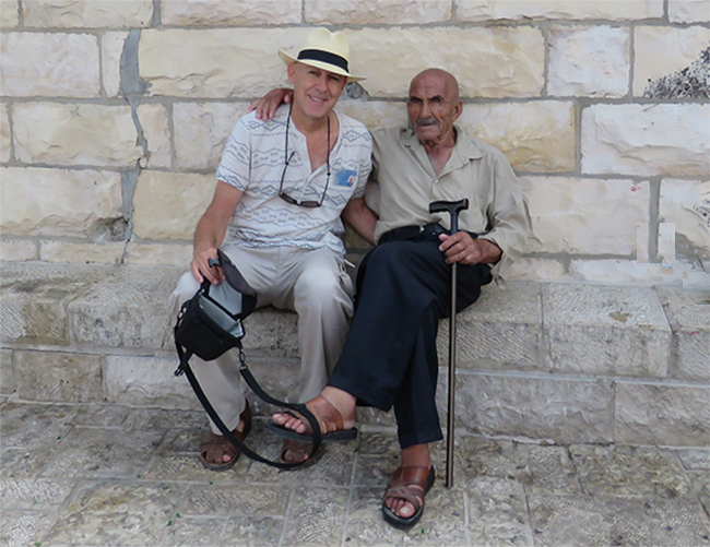 יואב אבניאון עם עבד סייאד
