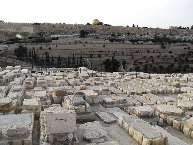 קברו של שלמה ישראל שיריזלי בהר הזיתים